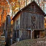 North Carolina Grist Mill Photo Poster