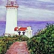 North Head Light House On The Washington Coast Poster
