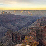 North Rim Sunrise Panorama 2 - Grand Canyon National Park - Arizona Poster