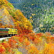 North To Crawford Notch Poster