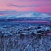 Norwegian Arctic Twilight Poster by David Broome