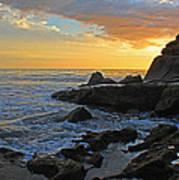 Nosara Playa Pelada Costa Rica Rocky Sets Poster