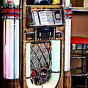 Nostalgic Juke Box Poster