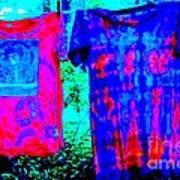 Not Fade Away - Tie Dye Poster