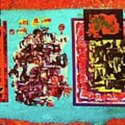 ...not On My Window..chiricagua Art.. Poster