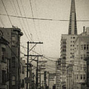 Not So Old San Francisco Poster
