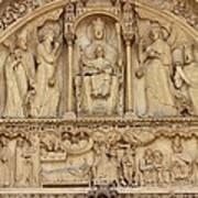 Notre Dame Detail Poster