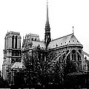 Notre Dame Poster by Rita Haeussler