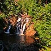 Nova Scotia Water Falls Poster