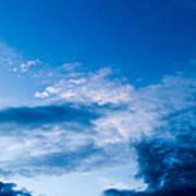 November Clouds 002 Poster