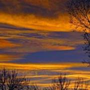 November Skies Poster