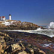 Nubble Light  Poster