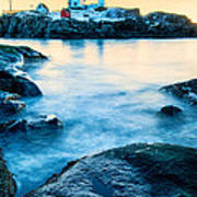 Nubble Light Poster by Thomas Schoeller