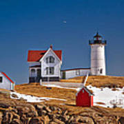 Nubble Lighthouse 3 Poster