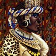 Nubian Prince Poster by Jane Whiting Chrzanoska