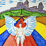 Nude Angel Road Poster