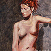 Nude French Woman Poster by Shelley Irish