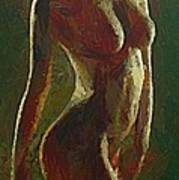 Nude In The Green Poster