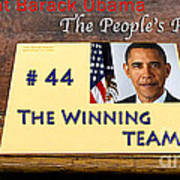 Number 44 - The Winning Team Poster
