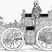 Nuremberg Carriage, 1649 Poster
