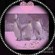 Nursery And Childrens Series Penguins Poster