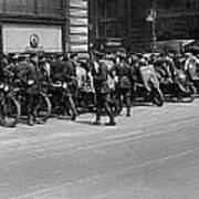 Ny Armored Motorcycle Squad  Poster