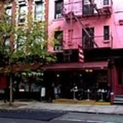 Ny Streets - Cafe Borgia II Soho Poster