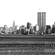 Nyc Skyline 1990s Poster by John Rizzuto