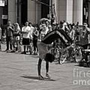 Nycity Street Performer Poster