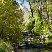 Oak Creek Canyon Creek Arizona Poster