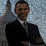 Obama Typography Design Poster