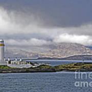 Oban Bay Lighthouse Poster