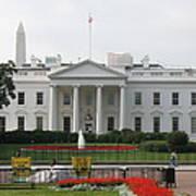 Obelisk And White House Poster