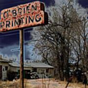 Obrien Printing Poster