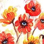Observant Flowers 101 Poster