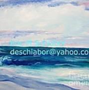 Ocean Assateague Virginia Poster