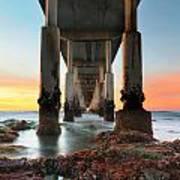 Ocean Beach California Pier 2 Poster