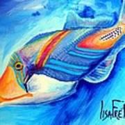 Ocean Blues Solo Poster