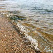 Ocean Curl Poster