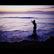 Ocean Mermaid Poster