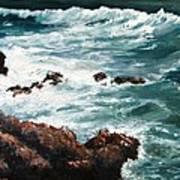Ocean Rocks  Poster
