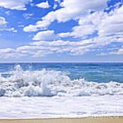 Ocean Surf Poster