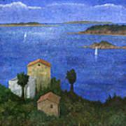 Ocean View II Poster