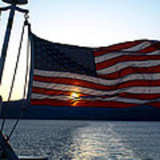 Oceanic Old Glory Poster