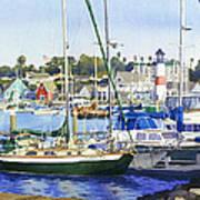 Oceanside Harbor Poster