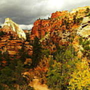 October In Zion Poster