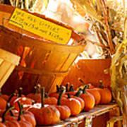 October Market Poster
