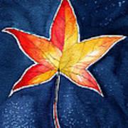 October Night Poster