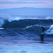 October Surf Poster