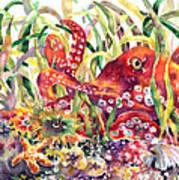 Octopus Garden Poster